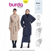 6378 Burda Pattern: Misses' Winter Coat